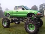 S-10 Mega Mud Truck