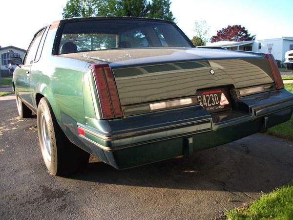 '83 Olds cutlass