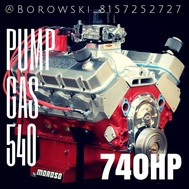 540 ci Big Block Chevy, 740 hp, 700 ft-lbs torque  for sale $17,900