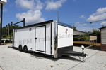 24' Custom Aluminum Race Trailer - 11522