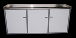 SALE!! 10% OFF!! 6' BENCH CABINETS w/SHELVES