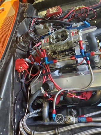 72 Duster with motor or as roller  for Sale $30,000
