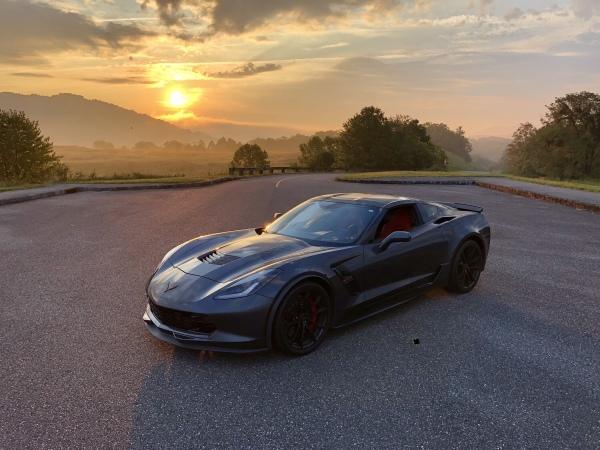 Clean title 2017 C7 Corvette Grand Sport M7 2LT Coupe  for Sale $57,500