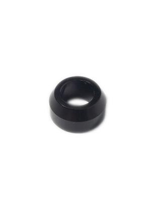 1/2 Aluminum Cone Spacer Black Anodized